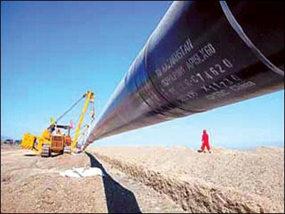 东西伯利亚石油管道工程